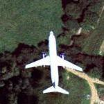 Airplane over Surrey (Bing Maps)