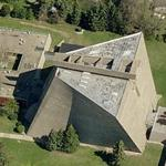 'Church of St. Francis de Sales' by Marcel Breuer (Birds Eye)