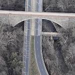Cabin John Bridge (Birds Eye)