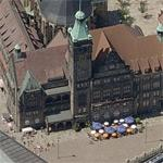 Chemnitz City Hall (Birds Eye)