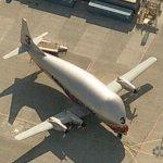 Aero Spacelines 377 (Super Guppy Turbine) (Birds Eye)