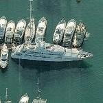 Superyacht Fortunato (Birds Eye)