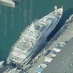 Superyacht Sarafsa (Birds Eye)