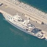 Superyacht Golden Shadow (Birds Eye)
