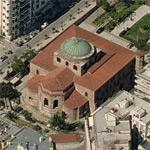 Hagia Sophia (Thessaloniki) (Birds Eye)