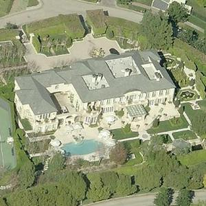 Kenneth Todd & Lisa Vanderpump's House (former) (Birds Eye)