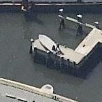 American Merchant Mariners' Memorial (Birds Eye)