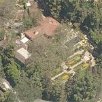 Yvette Mimieux's house (Birds Eye)