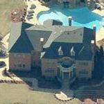 Gilbert Arenas' House (Birds Eye)