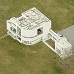 'Saltzman House' by Richard Meier (Birds Eye)