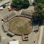 Campo Pequeno bloodless bullfighting ring (Birds Eye)