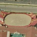 Artesia bloodless bullfighting ring