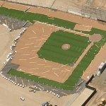 Cal State Monterey Bay baseball field under construction (Birds Eye)