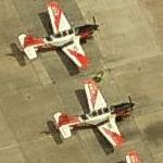 US Navy Beechcraft T-34 Mentor trainers (Birds Eye)