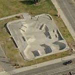 Downtown Billings Skate Park (Birds Eye)