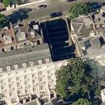 Dummy houses @23/24 Leinster Gardens, Paddington, London W2 (Birds Eye)