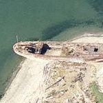 Mukilteo shipwreck (Bing Maps)