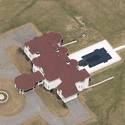 Creflo dollar 39 s house in fayetteville ga google maps for 100000 dollar house