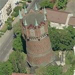 Water Tower Rostock (Birds Eye)