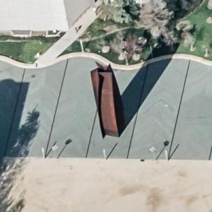 'Connector' by Richard Serra (Birds Eye)