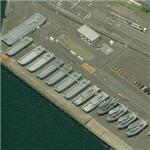 Various landing craft (Birds Eye)