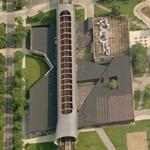 'McCormick Tribune Campus Center' by Rem Koolhaas (Birds Eye)