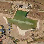 Texas shaped Wave Pool (Bing Maps)