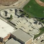 Santa Monica Skateboard Park (Birds Eye)