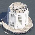 Brooklyn-Battery tunnel ventilation shaft (Bing Maps)