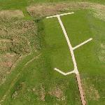 Cahokia Indian Mounds (Birds Eye)