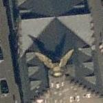 'Golden Bird' by HA Schult (Bing Maps)