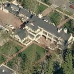 David Bohnett's house (former) (Birds Eye)