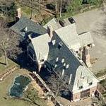 Brad Pitt & Angelina Jolie's House (Birds Eye)