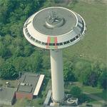 Leverkusen Water Tower (Birds Eye)
