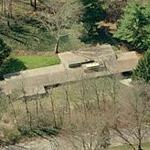 'Brown Residence' by Frank Lloyd Wright (Birds Eye)