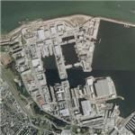 Censored french naval shipyard