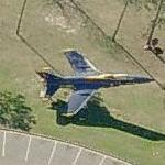 Blue Angels Grumman F-11 Tiger (Birds Eye)
