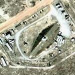 Mobile radar mound on Eglin AFB
