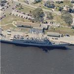 USS John L. Hall (FFG-32) (Birds Eye)