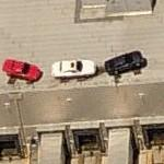 Ford & Lincoln on a roof (Birds Eye)