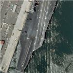 Aircraft Carrier USS Ronald Reagan (CVN-76) (Bing Maps)