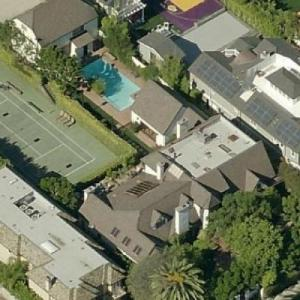 Debbie Allen & Norm Nixon's House (Birds Eye)