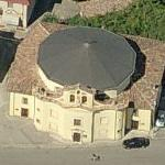 L'Aquila Earthquake : Church of Paganica before April 6, 2009 (Bing Maps)