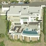 Sam Nazarian's house (former) (Birds Eye)