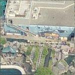 Wyland Whale Mural - 'Orcas A-30 Subpod'