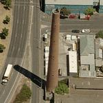 Clifton Hill Shot Tower (Birds Eye)
