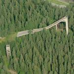 Abandoned skijump (Birds Eye)
