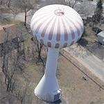 """Joseph H. Bourbeau Water Tank"" (Birds Eye)"