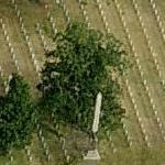 Baton Rouge National Cemetery (Birds Eye)