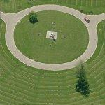 Dayton National Cemetery (Birds Eye)